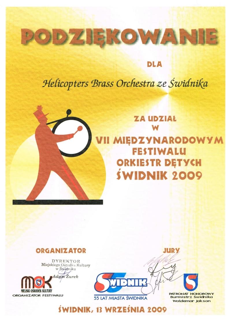 VII Międzynarodowy Festiwal Orkiestr Dętych, 2009