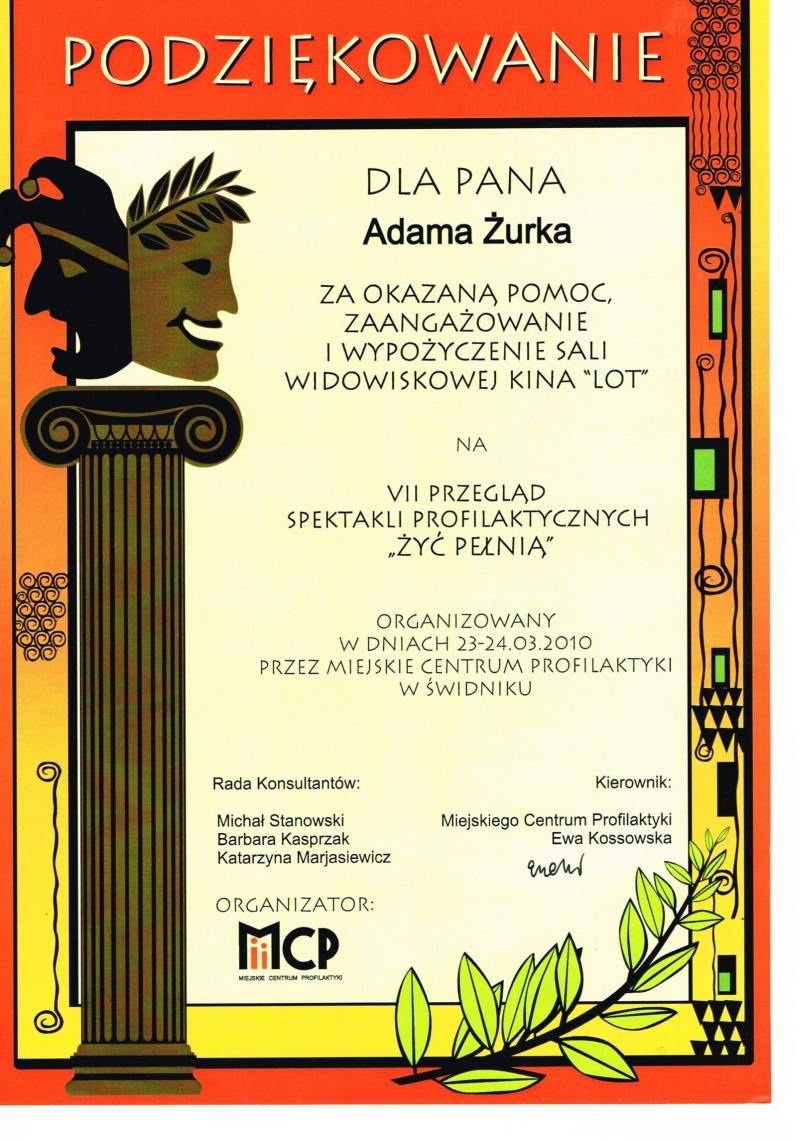 VII Przegląd Spektakli Profilaktycznych, 2010