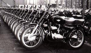 Motocykle WSK - produkcja