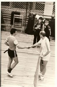 Wieslaw Ksieski i  Miroslaw Popczyk final turnieju 1978