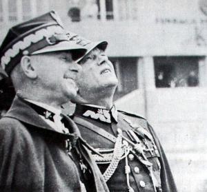 LOPP 21 Marszalek Smigly Rydz i  General Leon Berbecki Skrzydlata Polska 1939