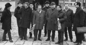 img161 od lewej 1. Bogdan Grabowski- rada robotników WSK, 2.Roman Mańko- rada Zakł. WSK, 3-5.NW 6. Witold Czerniak- ZMS,
