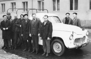 img2596 Samochód do likwidacji, Kierepko Roman, Mucha, Czesław Giełzak, Józef Dzierzgwa, Capał Czesław, Kowalik Albin, Ro~1