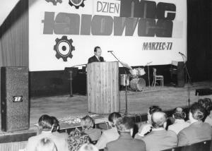 img1581 Jan Czogała- dyrektor naczelny WSK, akademia 1977 dzień Metalowca