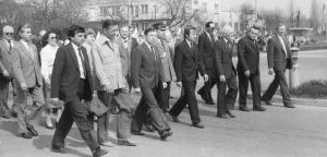 img2517 Jerzy Warda- 3od prawej w pierwszym szeregu od lewejSidor, Kozak, Głos Świdnika