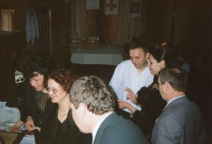 img1213 2od lewej- Jolanta Mazur, 2 od prawej Katarzyna Czruczoł, 3od prawej Piotr Duma