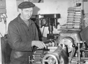 img1288 Stanisław Rachmiński- ślusarz mechanik, fot.Strelnik