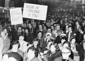 img2514 przeciwko produkcji broni N. protestowali pracownicy zakładów pracy Lubelszczyzny, fot.Sugier