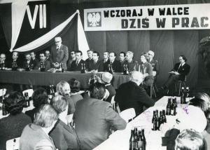img2518 Prezydium zebranie 30.11.75, Glos Świdnika