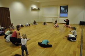 Pierwsze zajęcia - Teatr Tańca