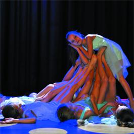 Taniec współczesny – Teatr Tańca Topaz